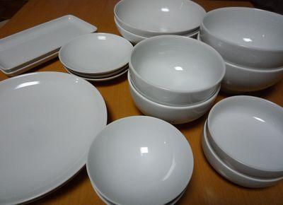 無印良品 白磁の食器