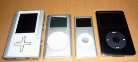 iPodとgigabeat