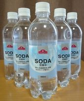 トップバリュのSODA 炭酸水