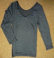 あったかインナー 8分袖シャツ