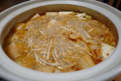 トップバリュのちゃんこ鍋用つゆ ピリ辛ごま味