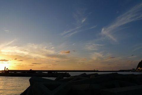 DMC-LX3で撮影した夕日