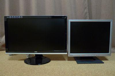 液晶ディスプレイ BenQ E2220HD買いました!