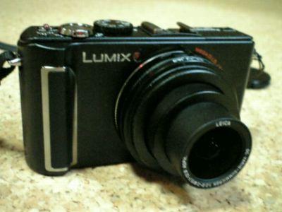 デジカメ LUMIX DMC-LX3 買いました!