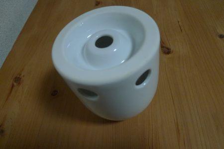 白磁歯ブラシスタンド 1本用(無印良品)