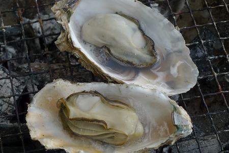 焼き牡蠣 2