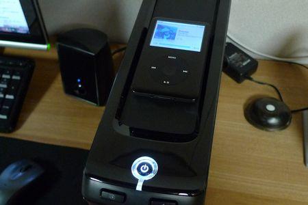 iPodが置ける