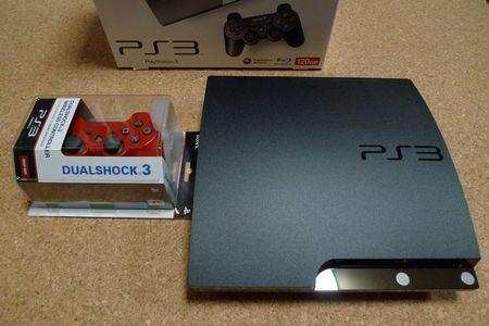 PS3、赤ランプ点滅故障・・・で、買い換えました!