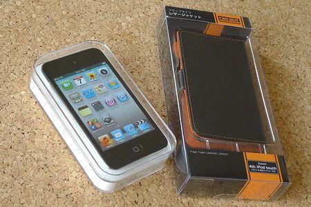iPod touch&レザージャケット