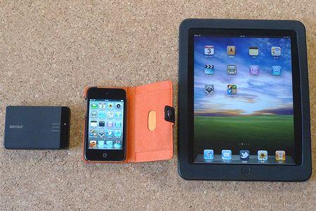 iPad、iPod touch、Wi-Fi