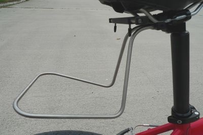 Quick Release Saddle Bag Support