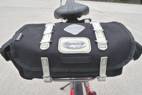 Carradice(キャラダイス)のサドルバッグ Barley買いました!