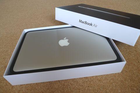 MacBook Airのニューモデル買いました!