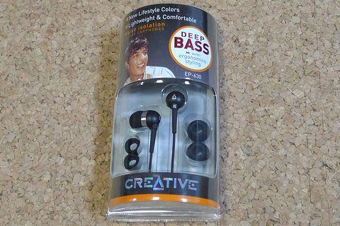 Creativeのインナーイヤー型イヤフォン EP-630買いました!