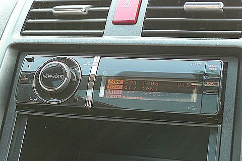 KENWOODのカーオーディオ、I-K77買いました!