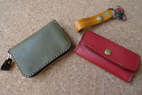 HERZの財布&キーケースとJaplishのキーホルダー