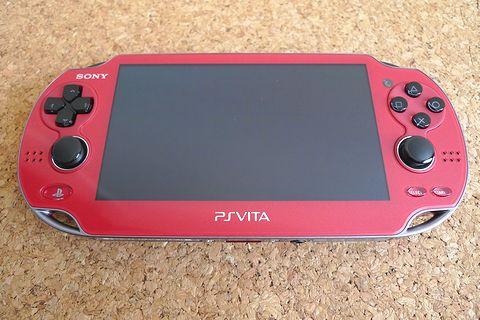 PS Vita コズミック・レッド&セミハードポーチ買いました!