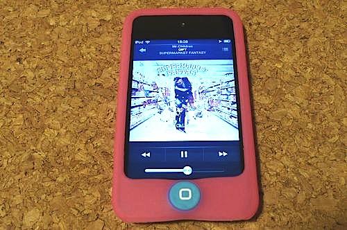 iPod touch4 シリコンケース買いました!