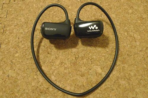 SONYのヘッドホン一体型ウォークマン NW-W274S買いました!