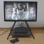 PS4用にViewSonic液晶ディスプレイ&ハヤミ工産テレビスタンド買いました!