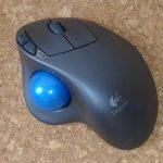 Logicool ワイヤレストラックボール m570t買いました!