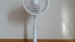 東芝 DCモーター搭載 コンパクト扇風機 F-DPT20買いました!
